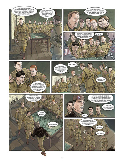 Page 7 opération Overlord tome 1 - Sainte-Mer-l'Eglise