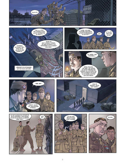 Page 8 opération Overlord tome 1 - Sainte-Mer-l'Eglise