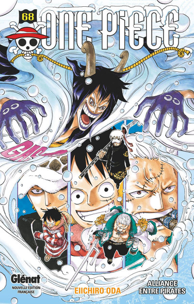 Couverture One piece tome 68