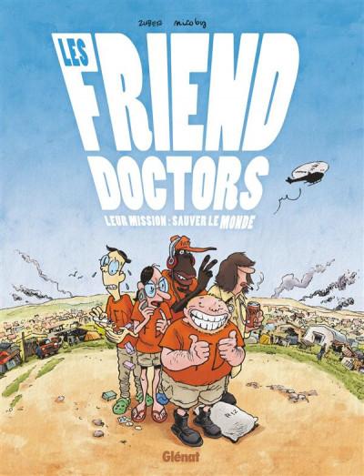 Couverture Les friend doctors