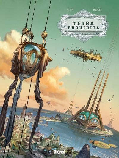 Couverture Terra prohibita tome 1 + ex-libris offert