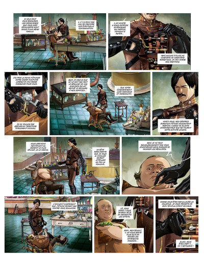 Page 2 Terra prohibita tome 1 + ex-libris offert