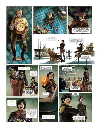 Page 3 Terra prohibita tome 1 + ex-libris offert