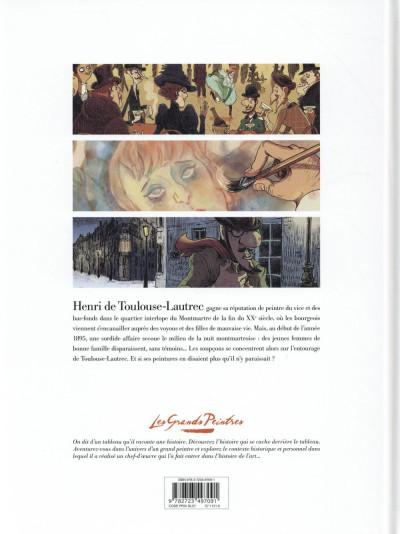 Dos Les grands peintres : Toulouse-Lautrec - Panneaux pour la baraque de la Goulue