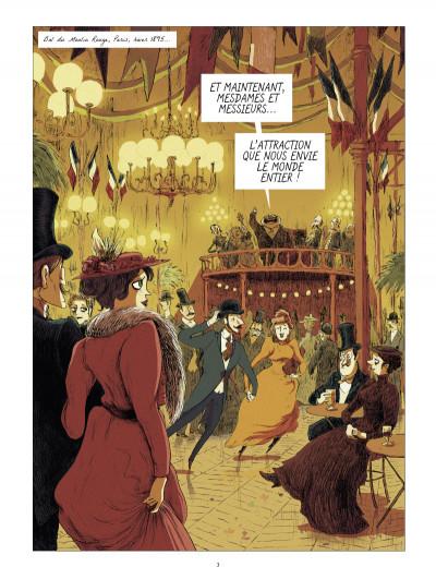Page 1 Les grands peintres : Toulouse-Lautrec - Panneaux pour la baraque de la Goulue
