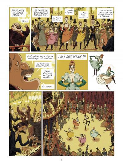 Page 2 Les grands peintres : Toulouse-Lautrec - Panneaux pour la baraque de la Goulue