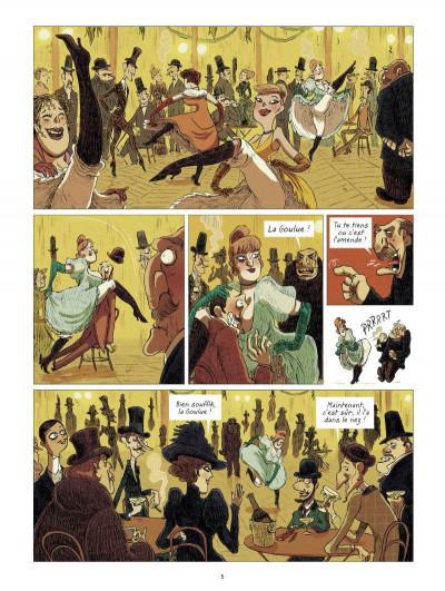 Page 3 Les grands peintres : Toulouse-Lautrec - Panneaux pour la baraque de la Goulue