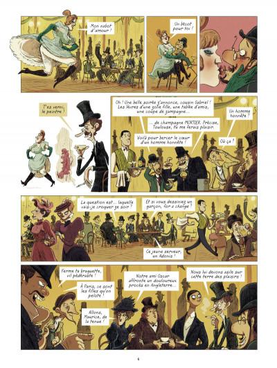Page 4 Les grands peintres : Toulouse-Lautrec - Panneaux pour la baraque de la Goulue