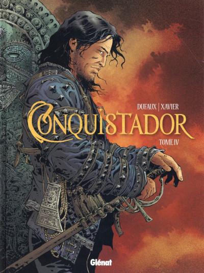 Couverture Conquistador tome 4