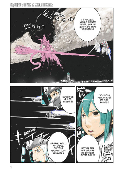 Page 2 Knights of sidonia tome 7