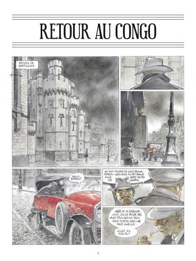 Page 1 retour au Congo