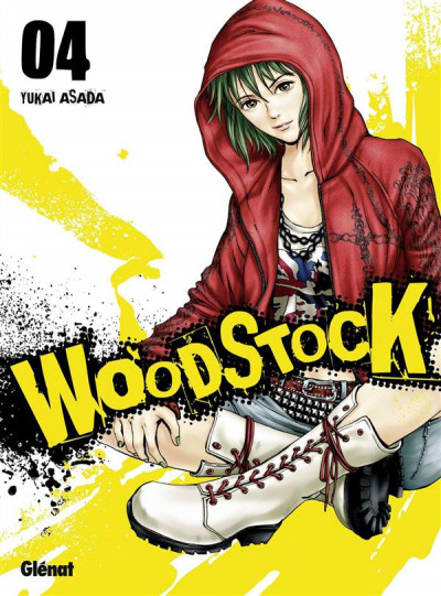 Couverture Woodstock tome 4