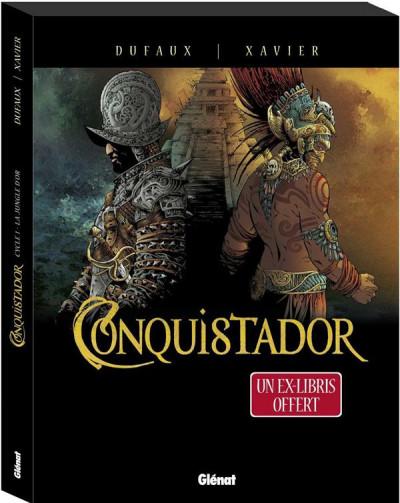Couverture Conquistador coffret tomes 1 et 2