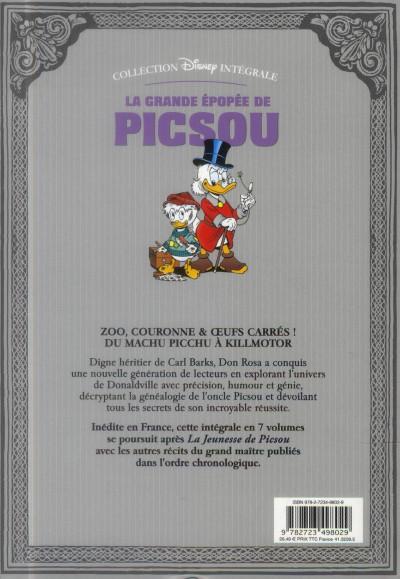 Dos la grande épopée de Picsou ; INTEGRALE VOL.3 ; le fils du soleil et autres histoires