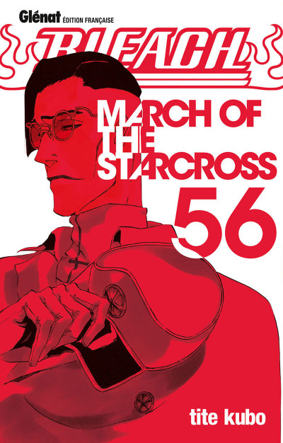 Couverture Bleach tome 56 - march of the starcross
