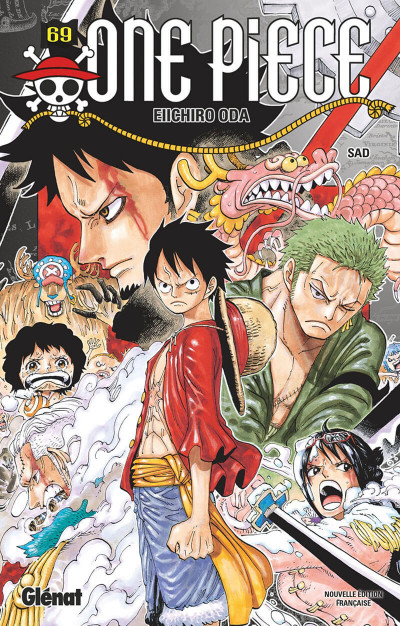 Couverture One piece tome 69