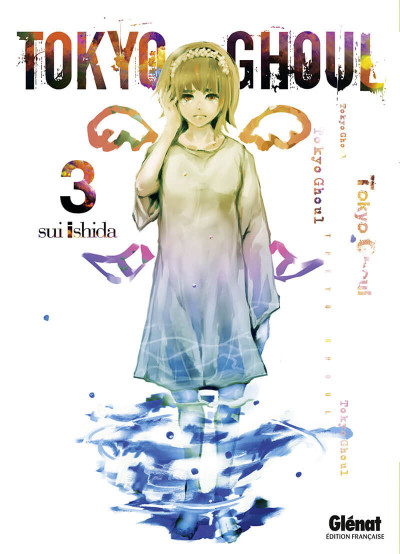 Couverture Tokyo ghoul tome 3