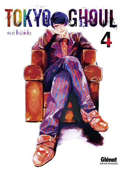 Couverture Tokyo ghoul tome 4