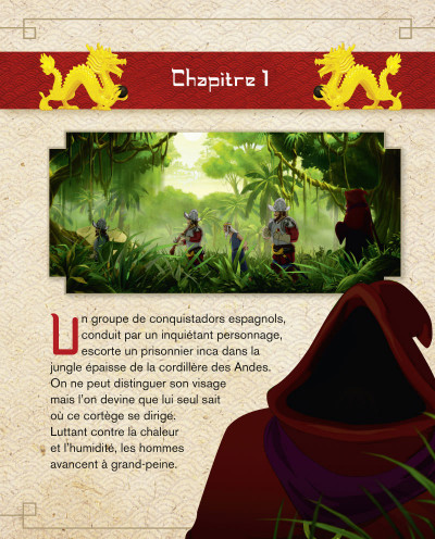 Page 1 Les mysterieuses cites d'or tome 1