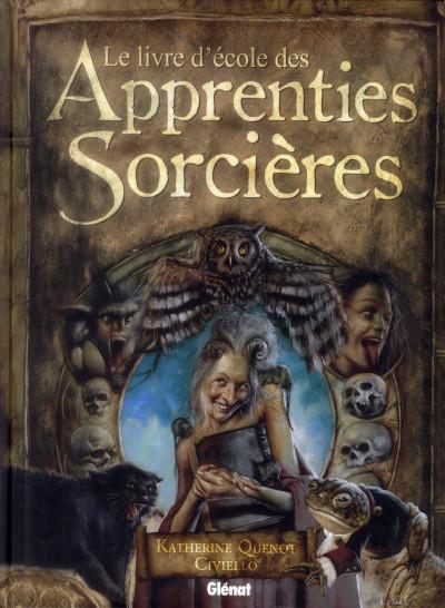 image de le livre d'école des apprenties sorcières