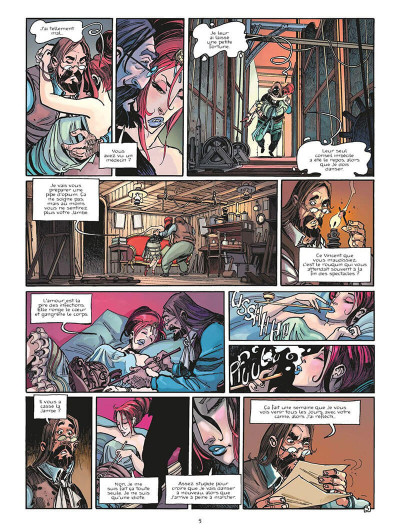 Page 8 chimère(s) 1887 tome 4 - Les liens du sang
