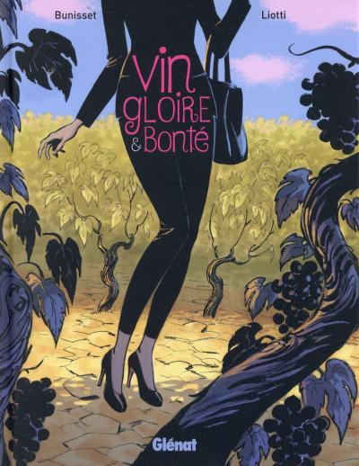 Couverture Vin, gloire et bonté