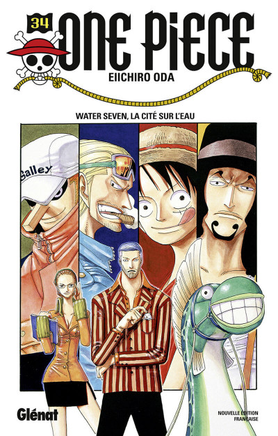 Couverture One piece tome 34