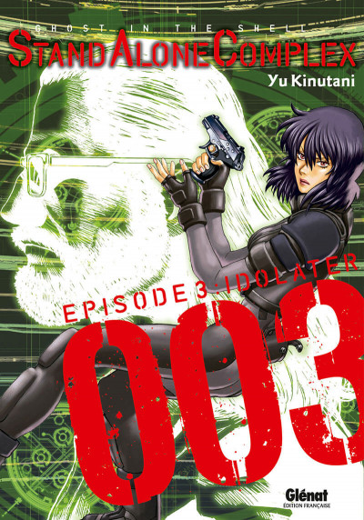 Couverture ghost in the shell - stand alone complex tome 3