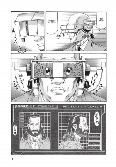 Page 0 ghost in the shell - stand alone complex tome 3