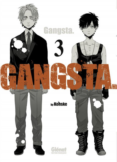 Couverture gangsta tome 3