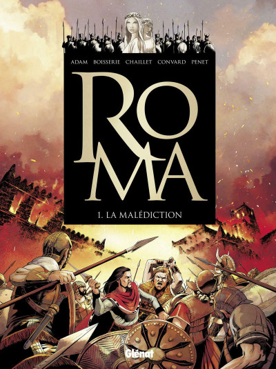 image de Roma tome 1 - La Malédiction