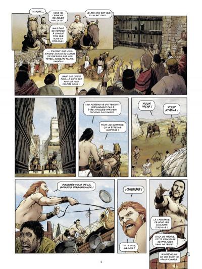 Page 2 Roma tome 1 - La Malédiction