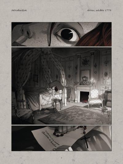 Page 1 La guerre des sambre - Maxime et Constance tome 1