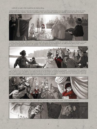 Page 2 La guerre des sambre - Maxime et Constance tome 1