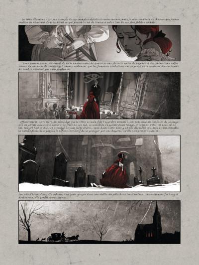 Page 3 La guerre des sambre - Maxime et Constance tome 1