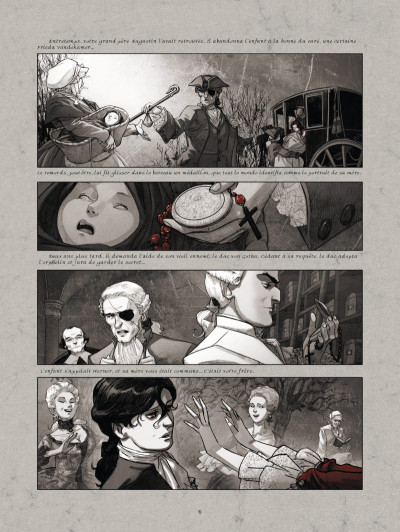 Page 4 La guerre des sambre - Maxime et Constance tome 1