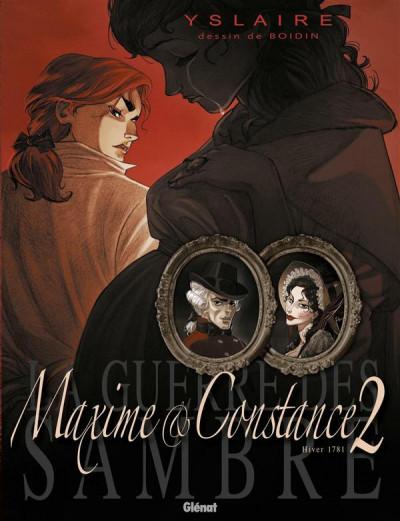 Couverture La guerre des sambre - Maxime et Constance tome 2