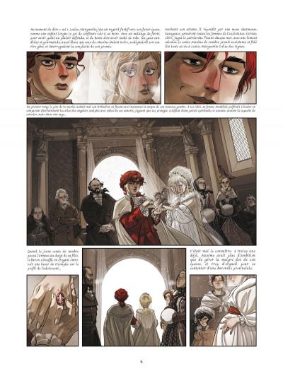 Page 2 La guerre des sambre - Maxime et Constance tome 2