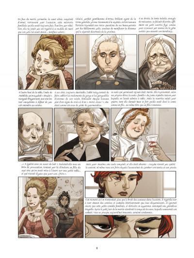 Page 4 La guerre des sambre - Maxime et Constance tome 2