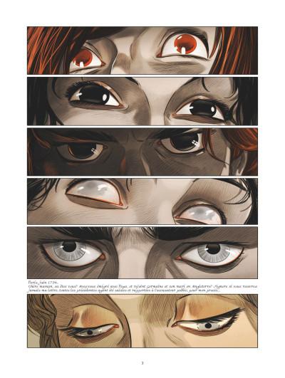 Page 1 La guerre des Sambre - Maxime et Constance tome 3