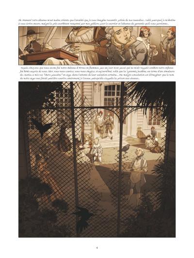 Page 2 La guerre des Sambre - Maxime et Constance tome 3