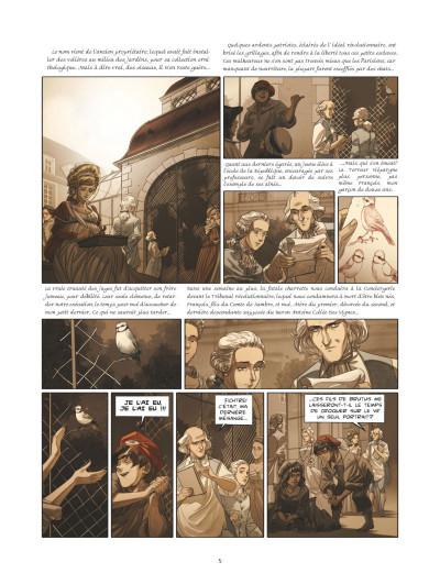Page 3 La guerre des Sambre - Maxime et Constance tome 3