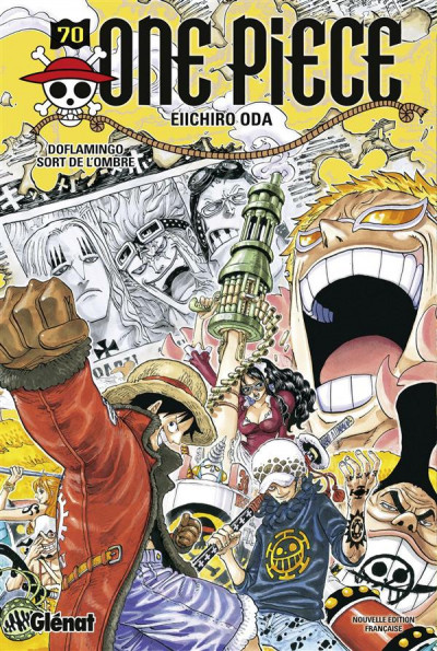 Couverture one piece tome 70