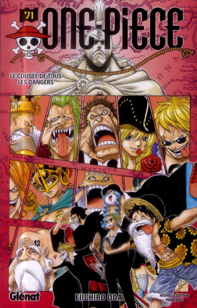 Couverture one piece tome 71