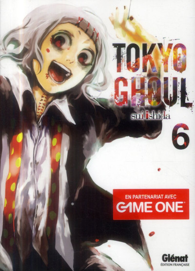 Couverture tokyo ghoul tome 6