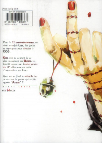 Dos tokyo ghoul tome 6