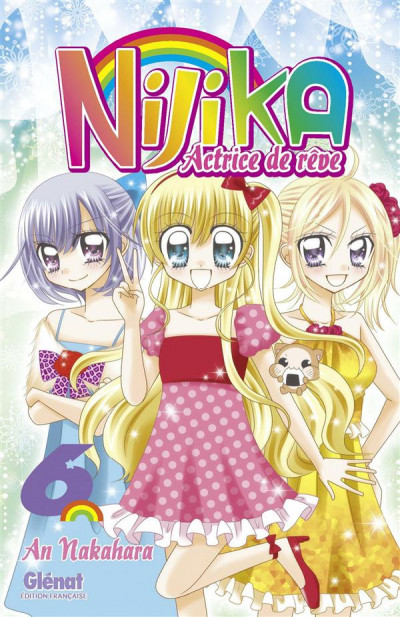 Couverture nijika actrice de rêve tome 6