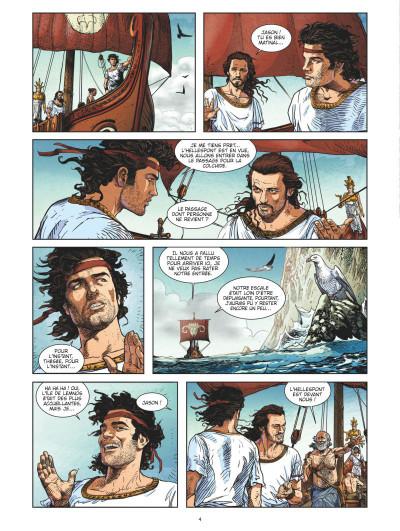 Page 2 Jason et la toison d'or tome 2