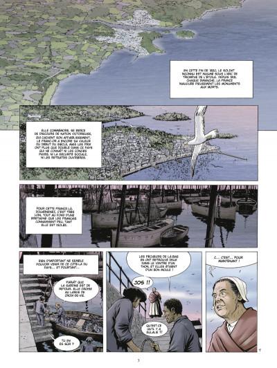 Page 1 Les chasseurs d'écume tome 4