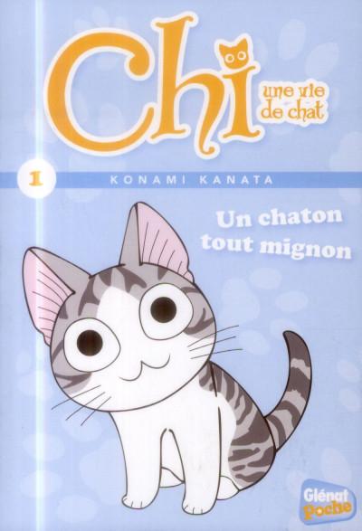 Couverture Chi tome 1 - un chaton tout mignon